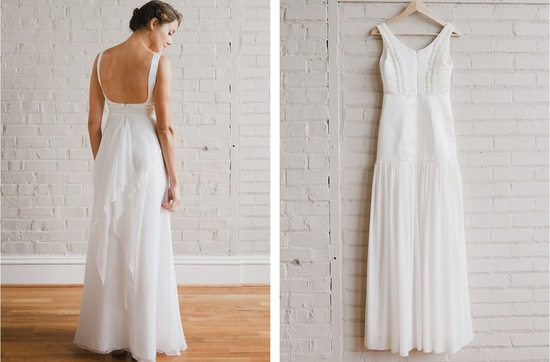 Simple Strapless Bridesmaid Dress Modified A Line