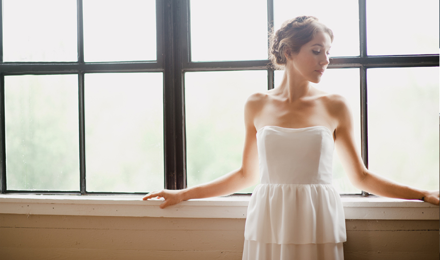 simple wedding dresses Whitney Deal bridal gown 6