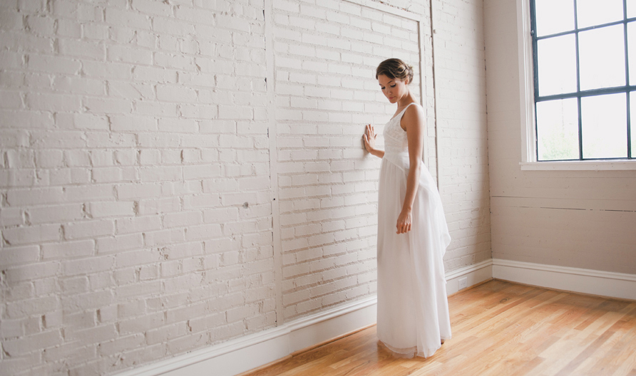 simple wedding dresses Whitney Deal bridal gown 5