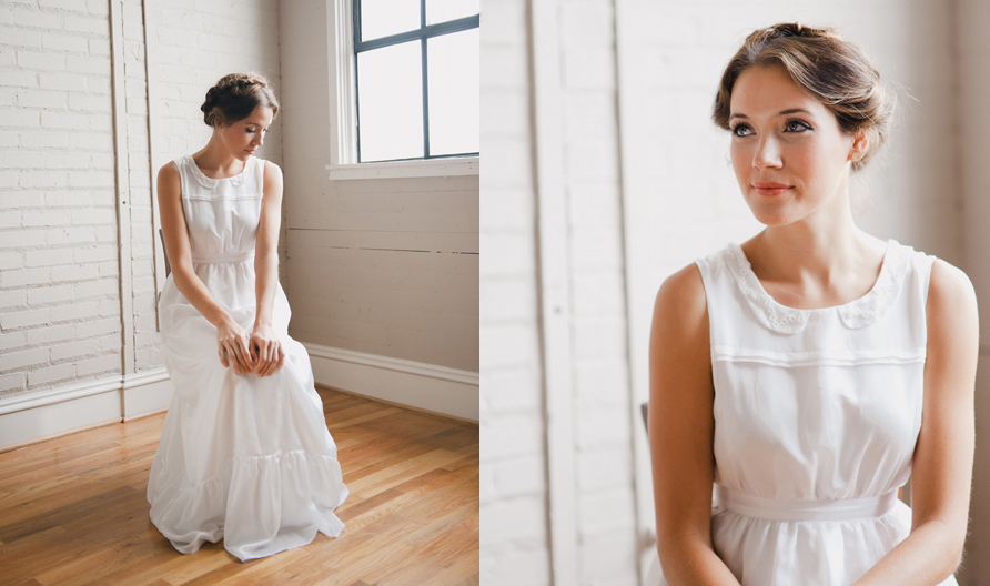 simple wedding dresses Whitney Deal bridal gown 4