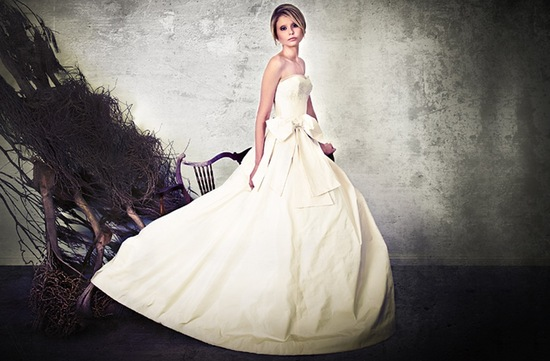 photo of Crazy Beautiful Bridal Gowns by Sarah Janks