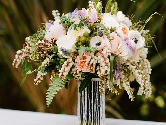 wedding details reception decor inspiration by Jerri Woolworth romantic bouquet
