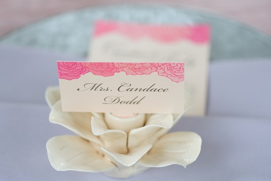 wedding details reception decor inspiration by Jerri Woolworth escort card