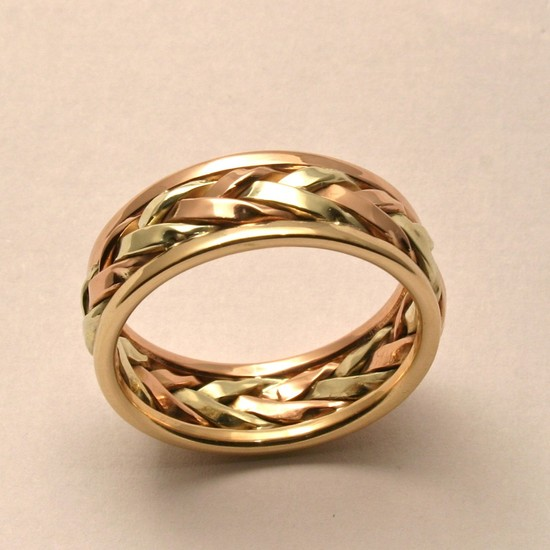 wedding bands your groom will love unique wedding rings from Etsy 14