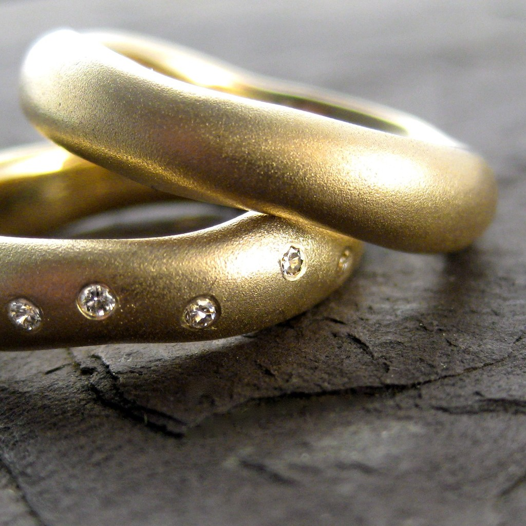 wedding bands your groom will love unique wedding rings from etsy 1 - Etsy Wedding Rings