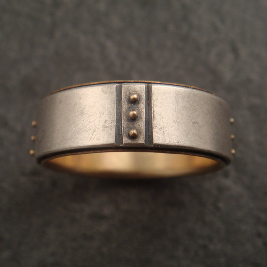 wedding bands your groom will love unique wedding rings from Etsy 12