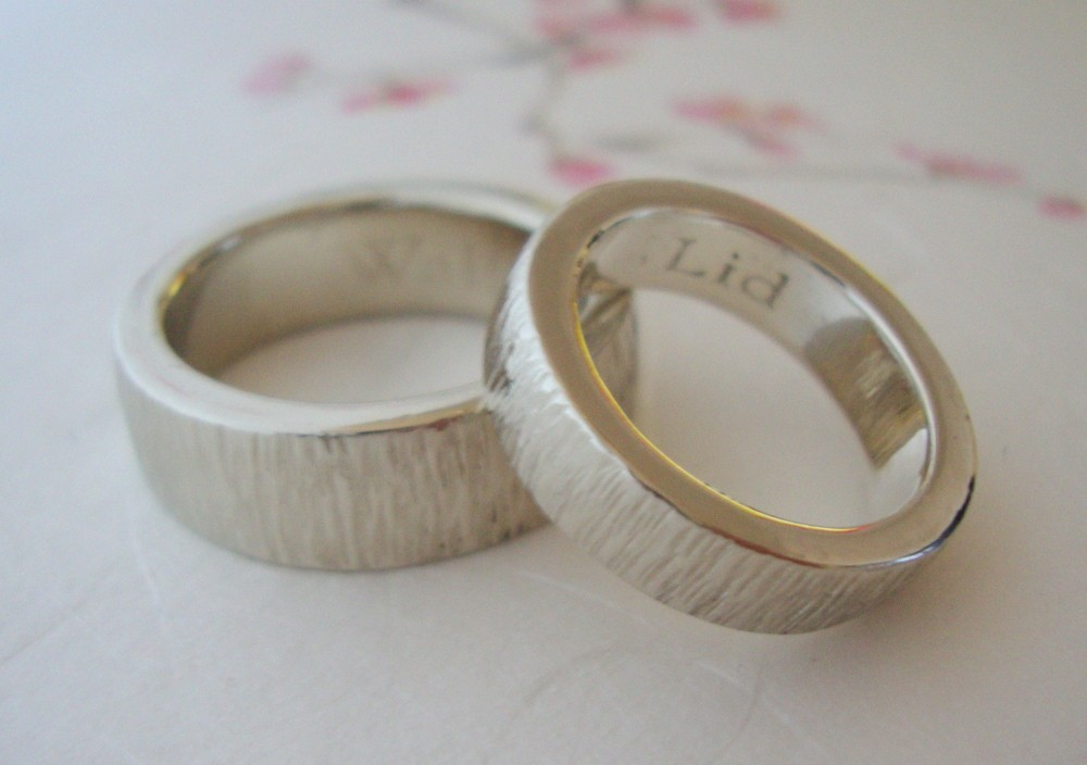 wedding bands your groom will love unique wedding rings from etsy 1 - Wedding Rings Unique