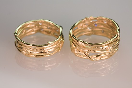 wedding bands your groom will love unique wedding rings from Etsy 3