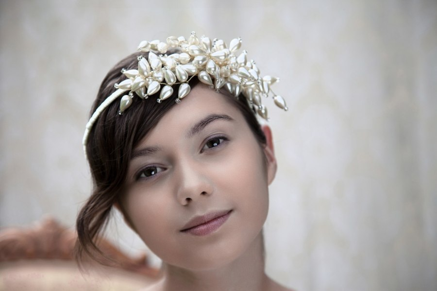 beautiful bridal hair accessories Parant Parant wedding headband 3