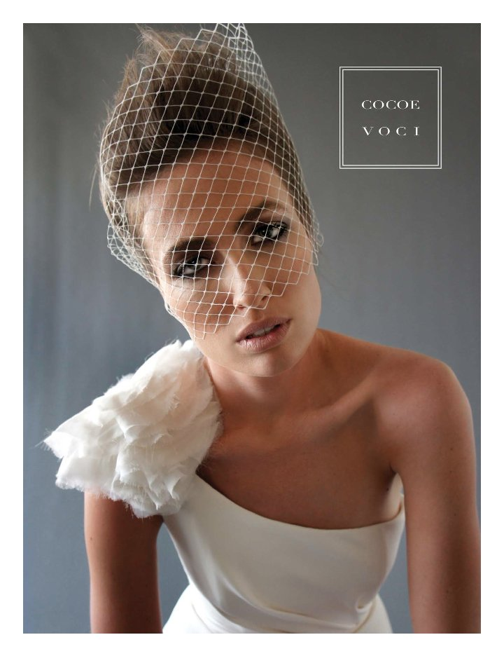 fall 2012 wedding dress Cocoe Voci bridal gowns 12