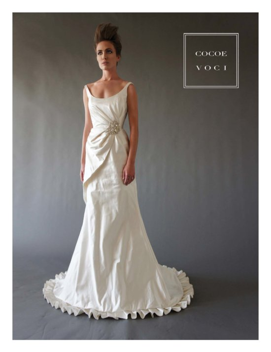 fall 2012 wedding dress Cocoe Voci bridal gowns 6