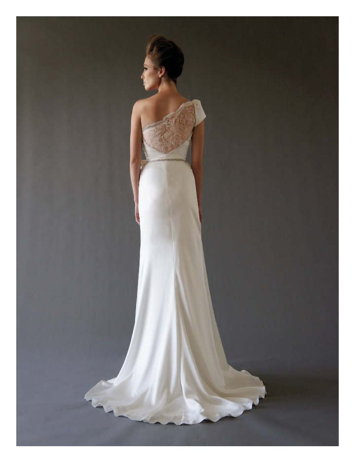 fall 2012 wedding dress Cocoe Voci bridal gowns 1