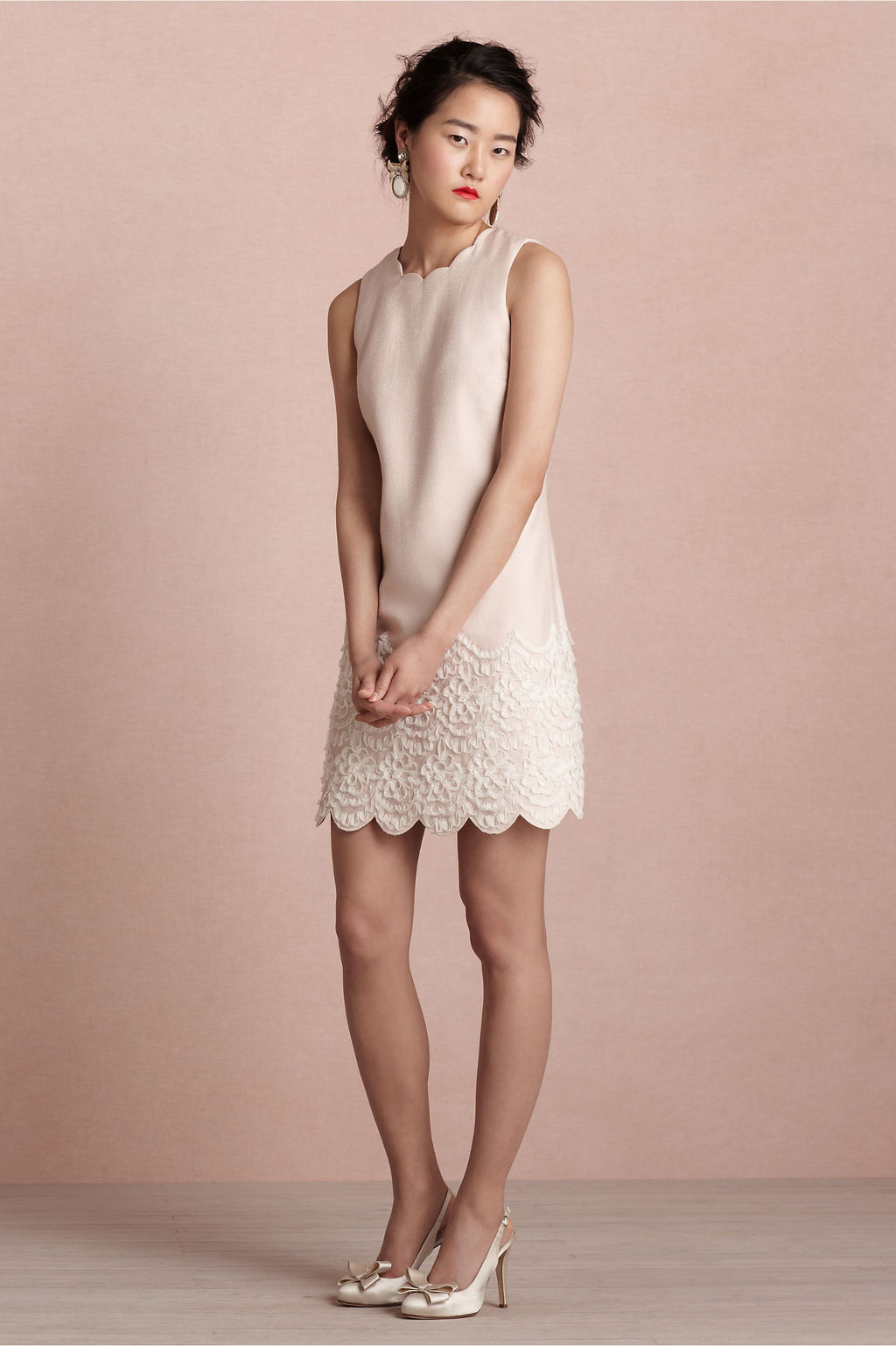 Covetable bridesmaid dresses from bhldn 2013 bridal party for Pastel dresses for wedding guests