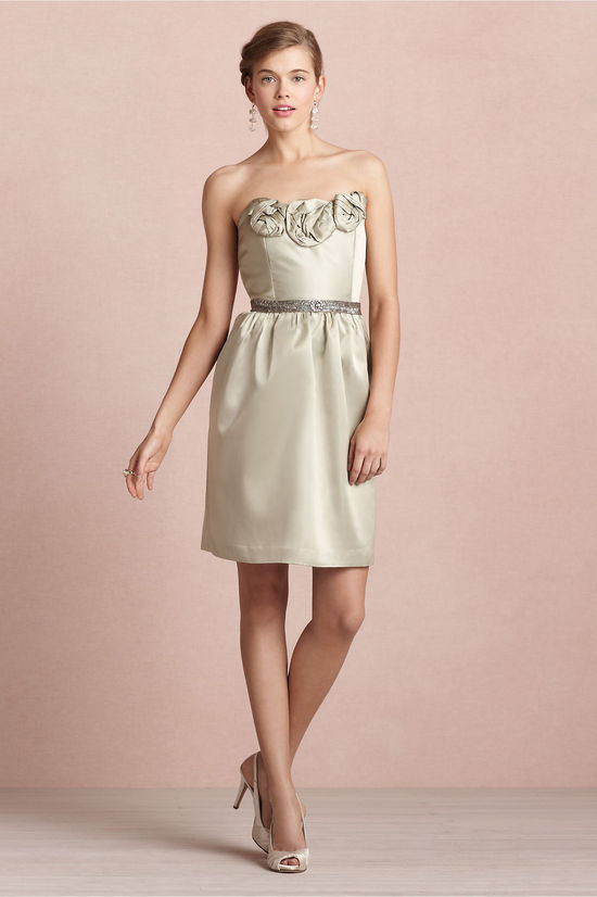 covetable bridesmaid dresses from BHLDN 2013 bridal party style champagne