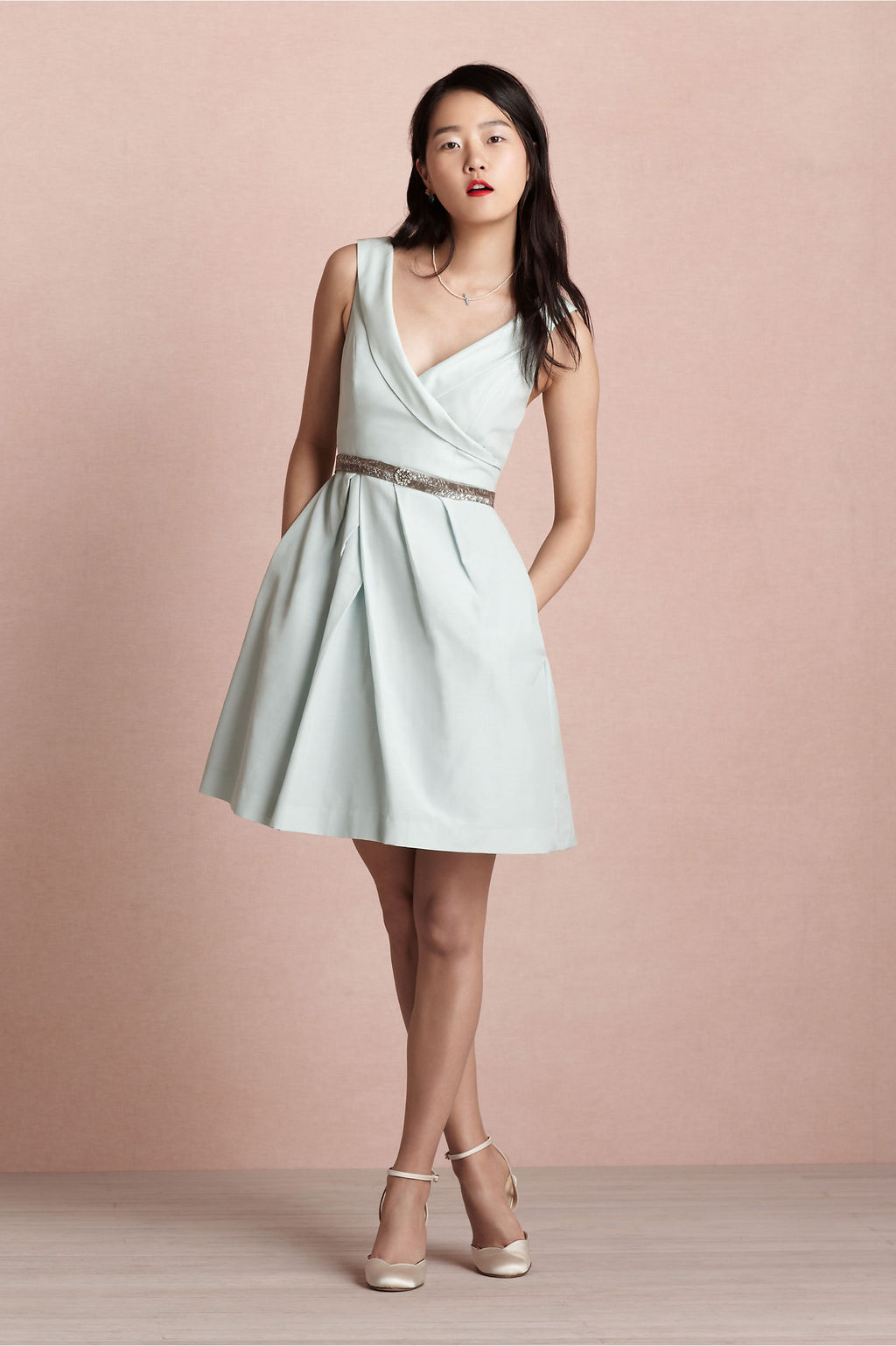 Covetable-bridesmaid-dresses-from-bhldn-2013-bridal-party-style-light-gray-belted.full