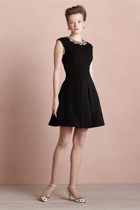 covetable bridesmaid dresses from BHLDN 2013 bridal party style black