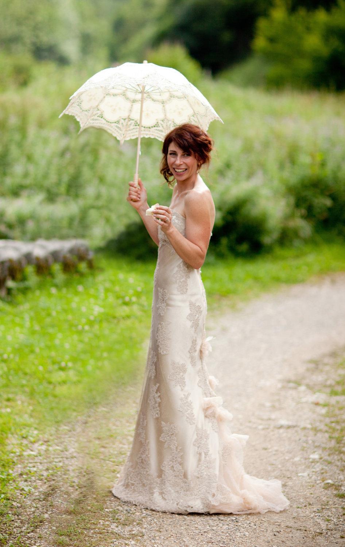 Unique-wedding-dresses-non-white-bridal-gown-creamy-beige-lace.full
