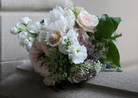 elegant real wedding North Carolina wedding photographers bridal bouquet
