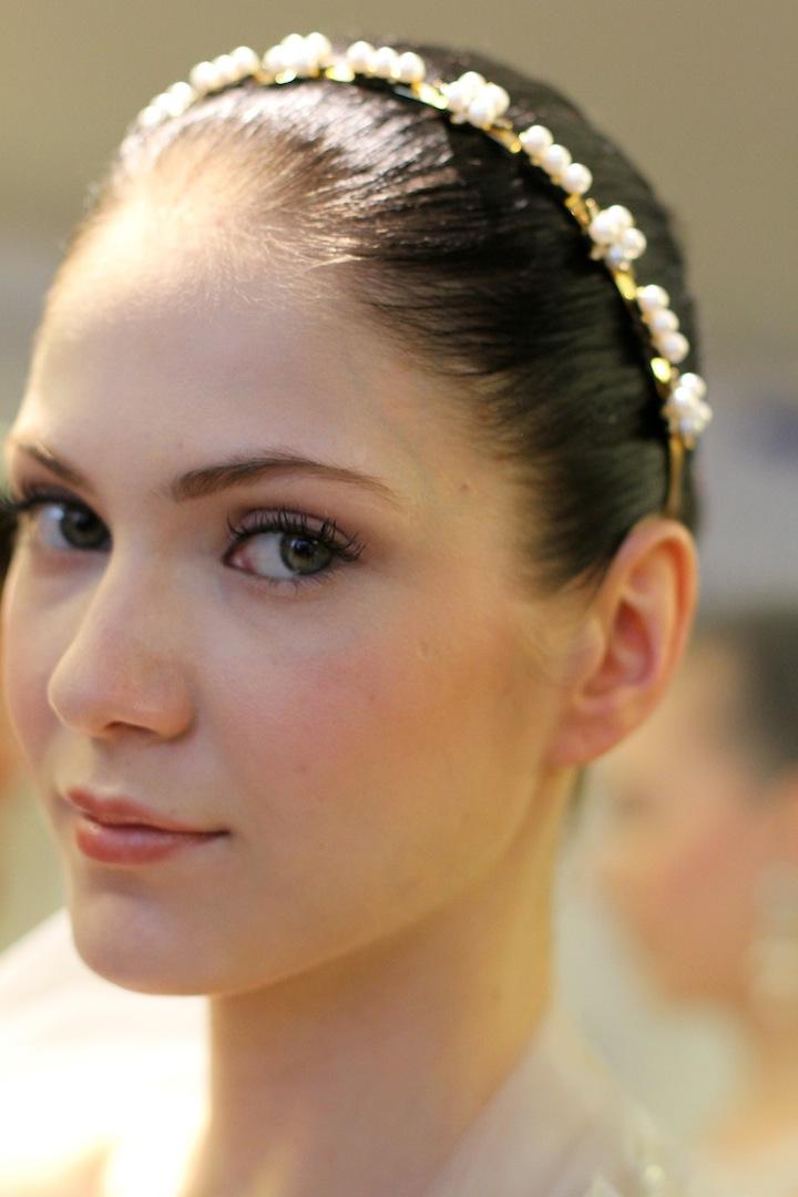 Elegant Wedding Hair And Makeup : elegant wedding colors ivory cream green romantic bridal ...