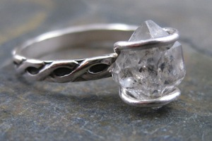 photo of Engagement Rings and Wedding Bling with Gorgeous Herkimer Diamonds