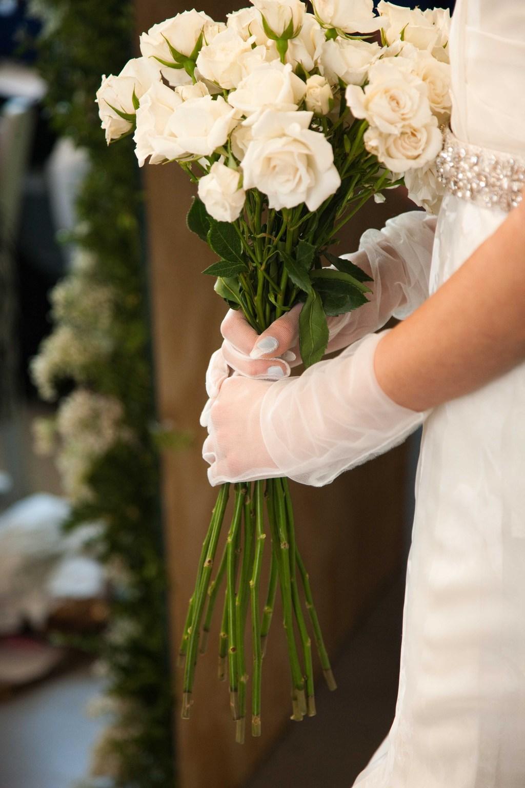 Elegant-wedding-colors-ivory-cream-green-oscar-de-la-renta-12.full