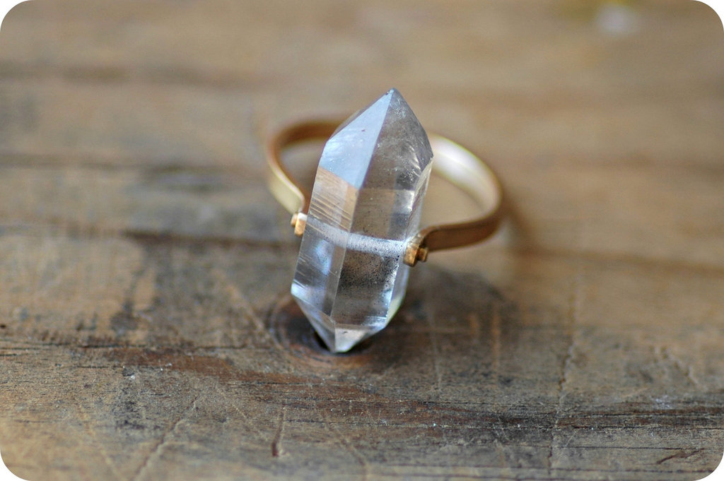 Unique-diamond-engagement-rings-wedding-jewelry-with-rough-herkimer-stones-9.full