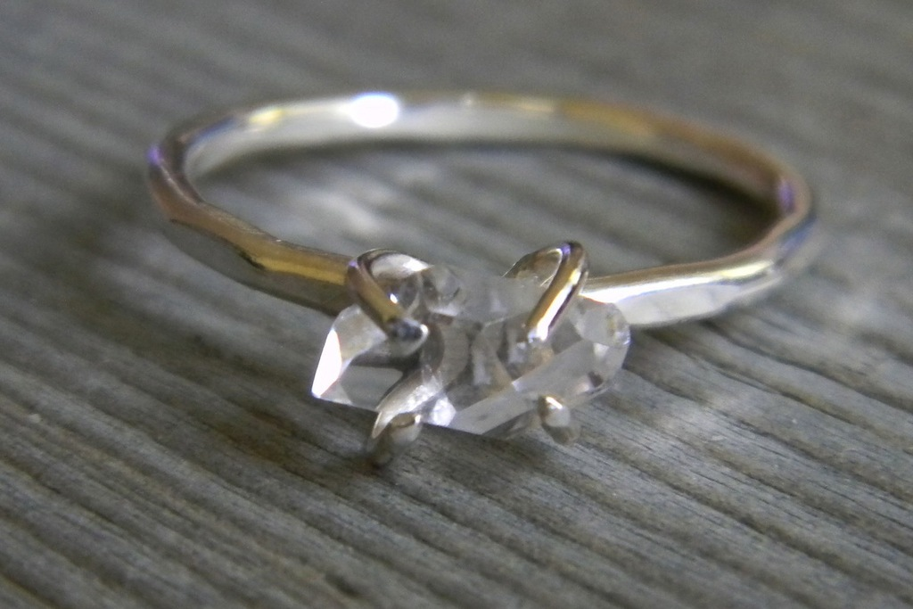 Unique-diamond-engagement-rings-wedding-jewelry-with-rough-herkimer-stones-3.full