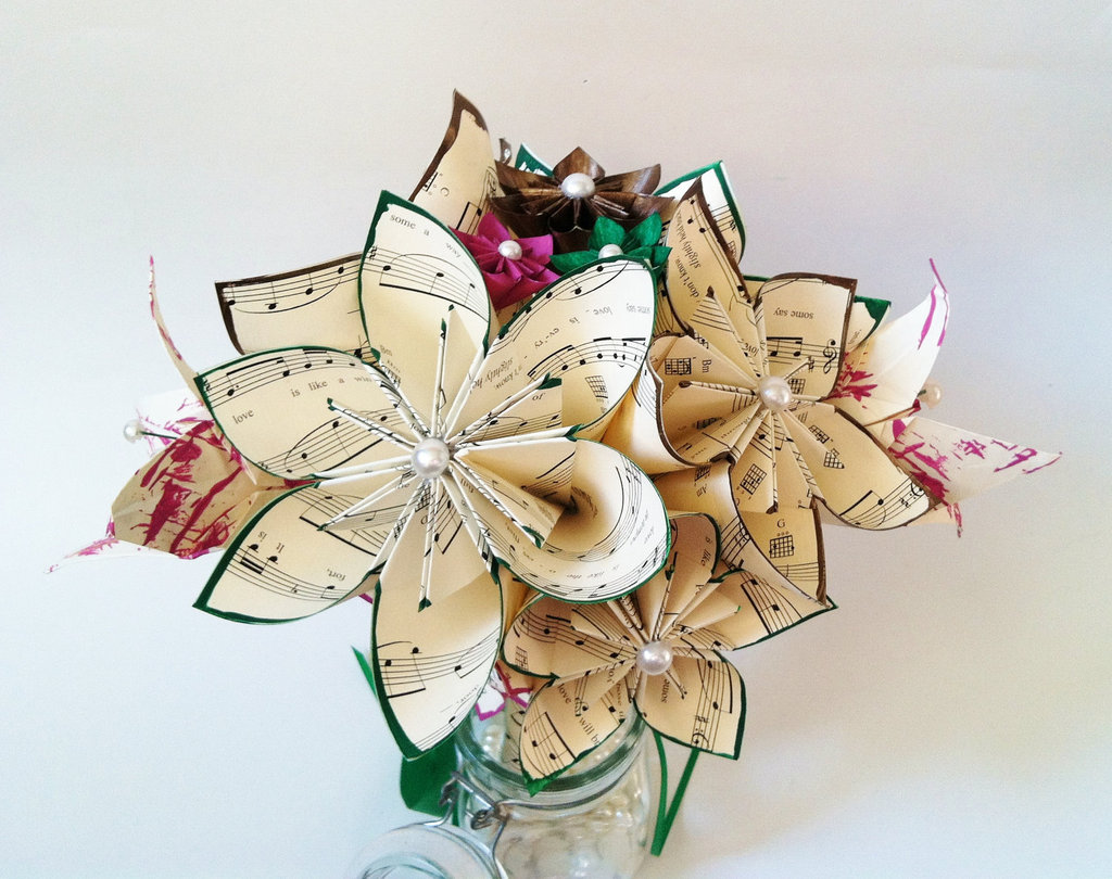 Music-themed-wedding-accessories-ceremony-reception-decor-paper-flower-centerpiece.full