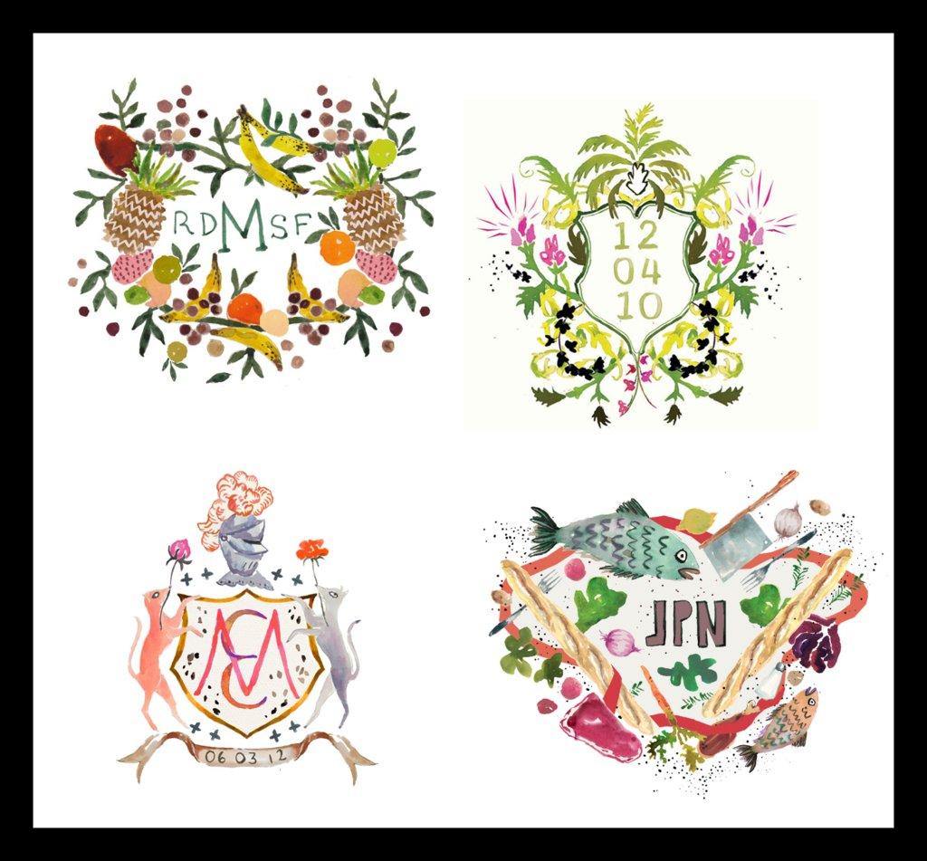 Personalized-wedding-ideas-custom-heraldry-artwork-3.full
