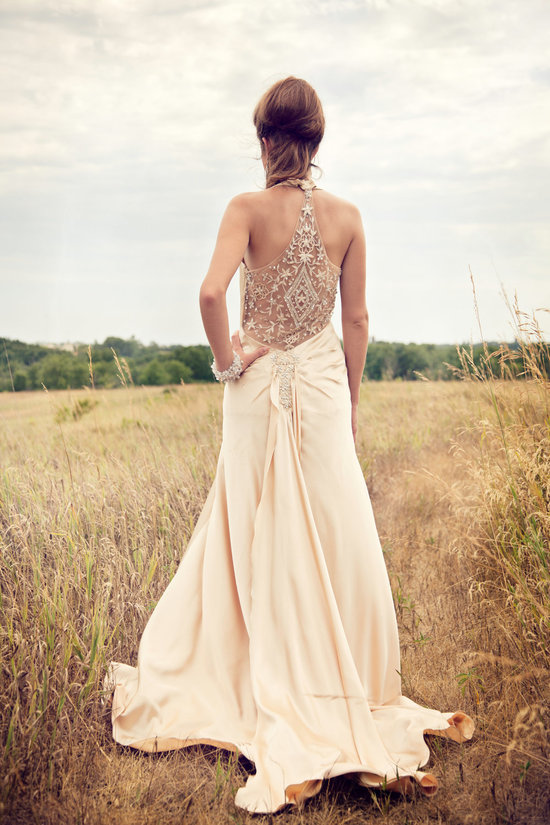 Vintage wedding dress bridal style inspiration from Etsy.