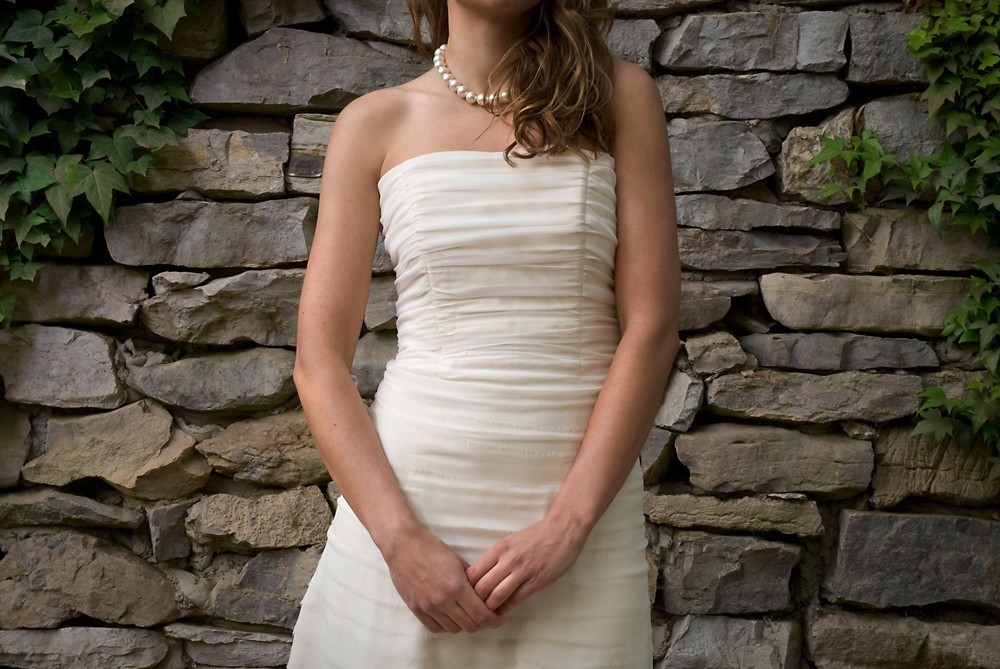 2013 wedding dress trends shirring technique Etsy bridal gowns LWD