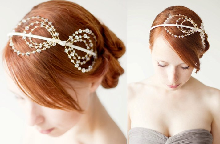 wedding hair accessories for brides seeking the unique bridal headbands 5
