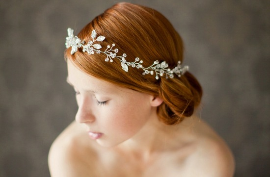 chic bridal headbands unique wedding hair accessories floral crown