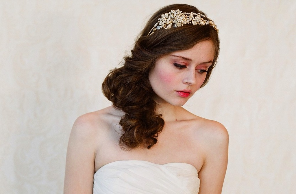 chic bridal headbands unique wedding hair accessories Twigs n Honey 2