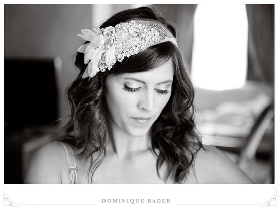 chic bridal headbands unique wedding hair accessories art deco