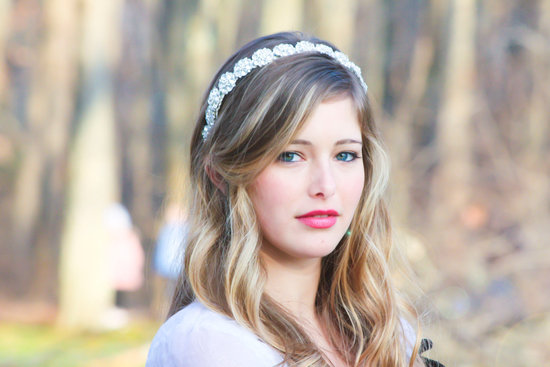 chic bridal headbands unique wedding hair accessories rhinestones