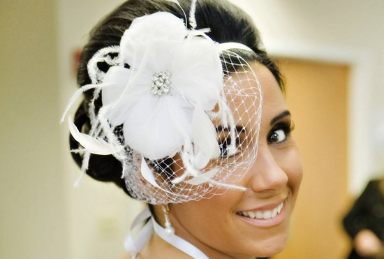 chic bridal headbands unique wedding hair accessories feather flower