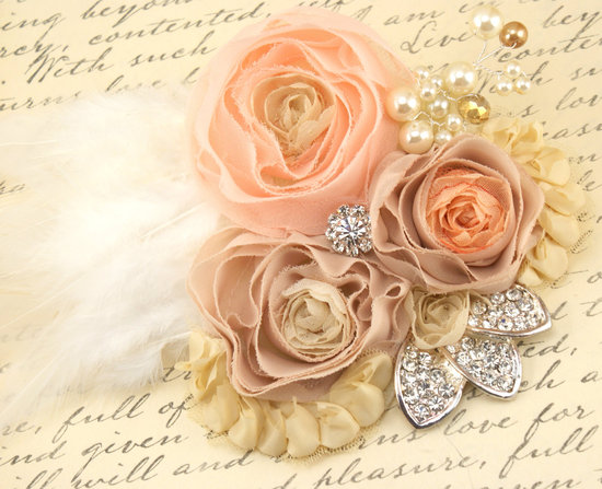Romantic weddings fascinator