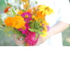 Wedding-color-inspiration-for-brides-from-etsy-weddings-marigold-pink-orange-yellow-bouquet.square