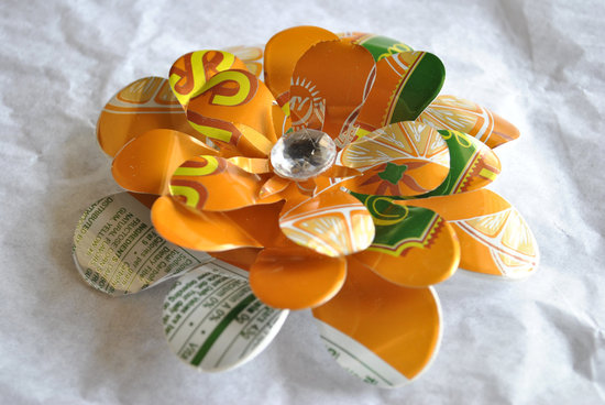 wedding color inspiration for brides from Etsy weddings Marigold eco friendly hair accessory