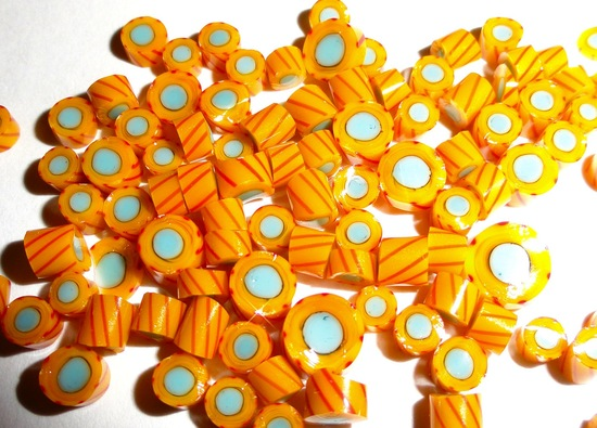 wedding color inspiration for brides from Etsy weddings Marigold candy