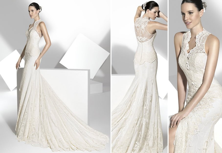 2013 wedding dress Franc Sarabia bridal gowns Spanish designers 21