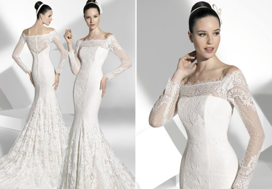 2013 wedding dress Franc Sarabia bridal gowns Spanish designers 20