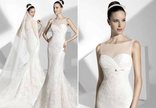 2013 wedding dress Franc Sarabia bridal gowns Spanish designers 18