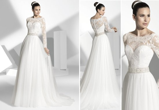 2013 wedding dress Franc Sarabia bridal gowns Spanish designers 19