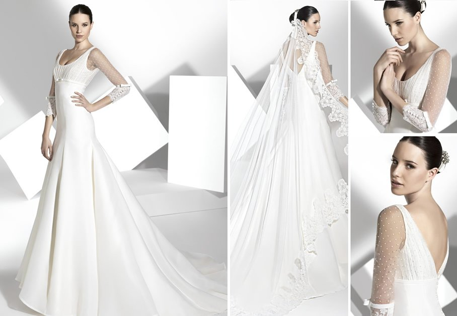 2013 wedding dress Franc Sarabia bridal gowns Spanish designers 16