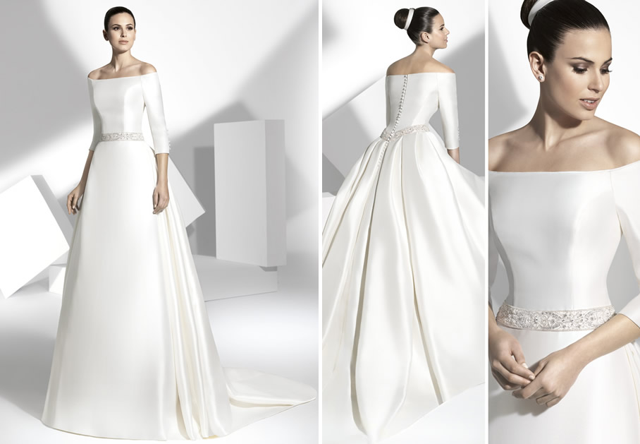 spanish designers for wedding dresses high cut