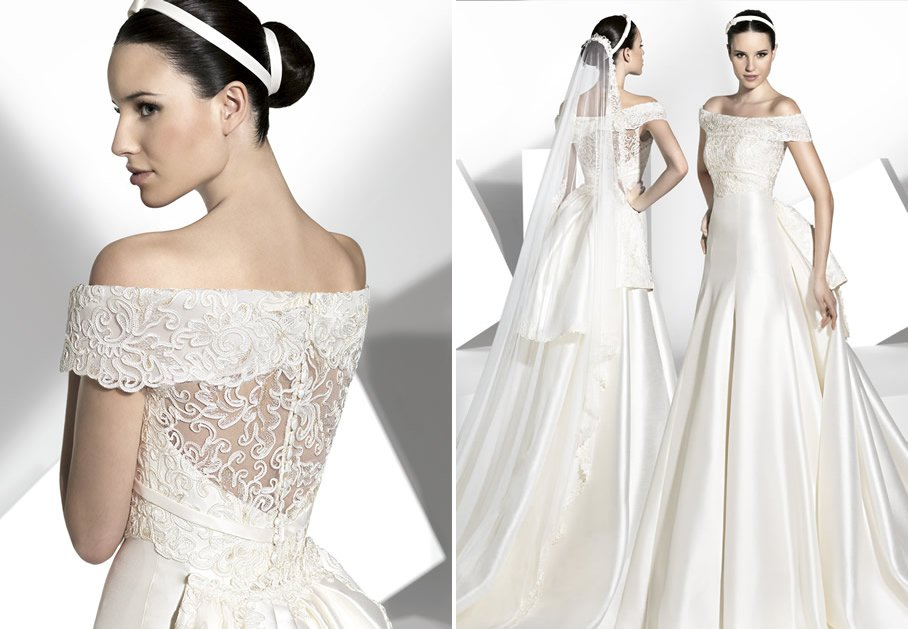 2013 wedding dress franc sarabia bridal gowns spanish designers 15