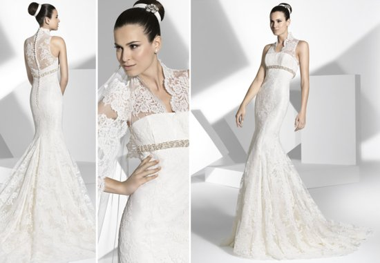 2013 wedding dress Franc Sarabia bridal gowns Spanish designers 14