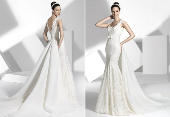 2013 wedding dress Franc Sarabia bridal gowns Spanish designers 13
